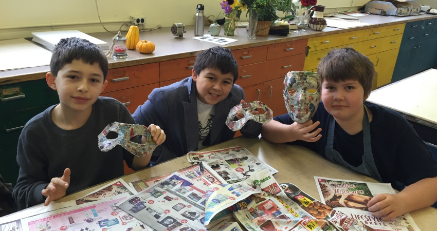 Art Exploratory – Venetian Masks